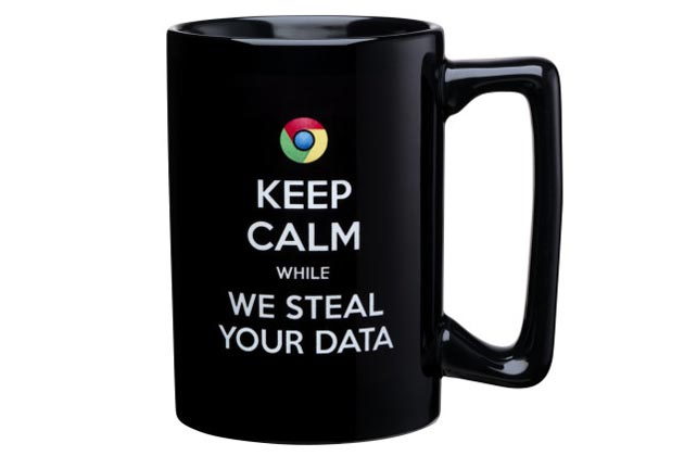 Mug Microsoft développé pour dénigrer Google