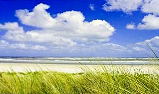 Photo du ciel faite au bord du mer