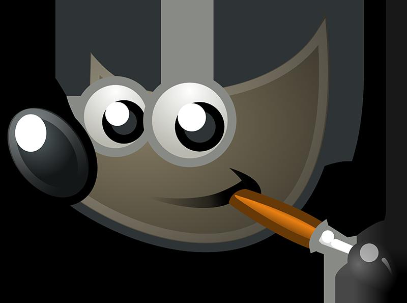 Logo du logiciel de retouche photo GIMP